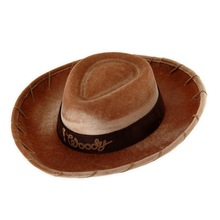 High Quality Felt Cowboy Children Halloween Carnival Party Hats & Caps