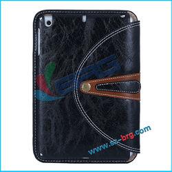 BRG-New arrival combo case for Ipad Mini2 Mini II,leather case for ipad mini2