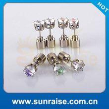 2014 Best Selling zing earrings Disco Lights