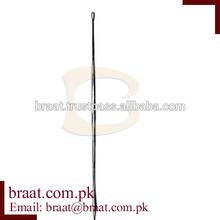 a Probe Buttoned w/eye flat end 2mm, 11.5cm/Dermatology, Otology & Probe
