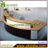 Modern/creative space saving and easy operation office low counter