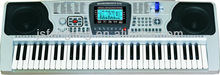LED 61-key Keyboard, Built-in USB Disk, MP3 Player