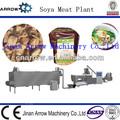 automática en caliente extruido con textura de proteína de soja línea de producción