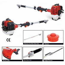 43cc 2-Stroke Side Attached Gasoline Brush Cutter with 1E40F-5 Engine (BC430S) how to use hedge trimmer