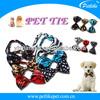 fashion pet dog bow tie collar
