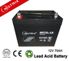 12v lead acid battery used on the motorcycle