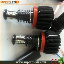 china manufacturer high power Cree chip H8 scoket E60, E38,E46,E39 led headlight angel eyes kits