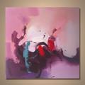 venta al por mayor hecho a mano abstracto famosas pinturas abstractas de imágenes