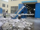 plastic recycling machine fabric made recycled plastic bottles