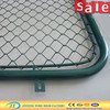galvanized chain link fence gate