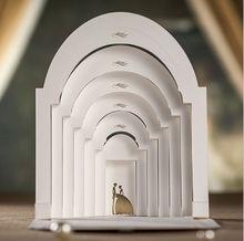 wedding card/luxurious wedding invitation card/3d wedding invitation card