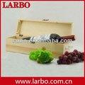 Papel cartón personalizado doble sola botella caja de vino de madera logotipo personalizado venta al por mayor
