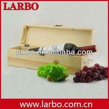 custom cardboard paper double single bottle wooden wine box custom logo wholesale
