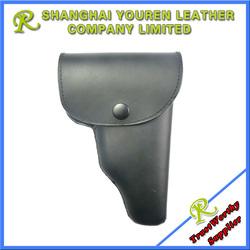 64/77 type single hand pull leather gun Pouch/pistol case