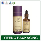 wholesale creative kraft paper essential oil packaging paper tube boxes