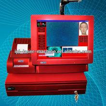 2014 hot sale! CE approved best professional skin analyzer / hair skin analysis machine