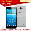 100% Original THL W11 MT6589T 5.0 inch FHD 1.5Ghz quad core CPU 1920*1080 smart hand phone