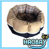 Round Lattice Animal Pet Dog Sleeping Bed Pet Dog House