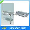 La cordura de acero inoxidable para mascotas mesa de diagnóstico/perro mesa de diagnóstico/examen diagnóstico tablezl- 503
