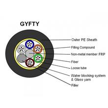 GYFTY 4,6,8,10,144cores Stranded Telecommunications Fiber Optic Cables