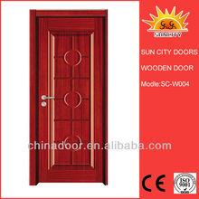 Turkish Style Wooden Door from Yongkang Factory SC-W004