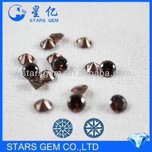 machine cut loose zircon gemstone