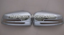 2009-2010 china abs chrome exterior accessories 2pcs mirror cover for benz w212