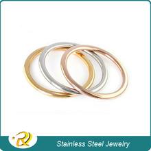 Fashion bracelet 2015 Silver Rose Gold plated Bangle 316l Stainless Steel Bracelet jewelry