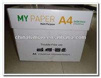 Hemp copy paper
