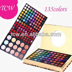 make up kwasten,sleek make up,makeup cases,135colors makeup sets