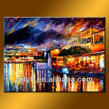 New arrival original painting knife canvas art