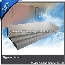 Modern SGS ceiling gypsum board standard size