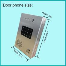 PBX IP door entry phone Keypad,ID card for door access control