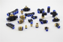 push in fitting pneumatic fittings and connectors PLF14-02 high quality