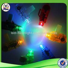 Finger light transparent solar calculator for promotion gift Led light transparent solar calculator for promotion gift