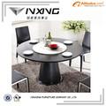 de granito de luxo top 48 polegadas mesa de jantar redonda 127