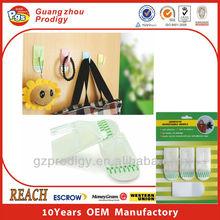 New removable plastic mop holder / calendar hanger hooks