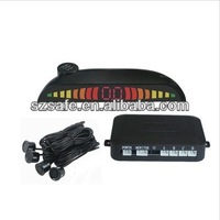 4 back sensors led reverse parking sensor with beeper alarm quality guarantee