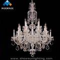 moderna decoração candelabros de prata
