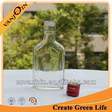 küçük cam ucuz şarap şişesi toptan