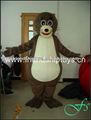 2014 vedação marrom mascote