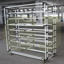plastic coated steel pipe lean manufacturing products for pipe racking system