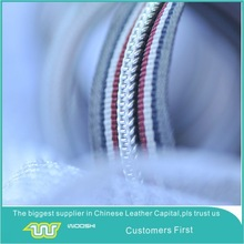 Hot sale # 5 nylon zipper roll with fancy silver teeth and packing nylon roll for newest Garment,bag,suitcase