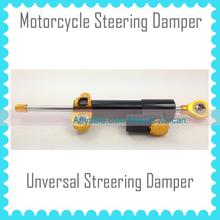 Universal Motorcycle Steering Damper BLACK and GOLD
