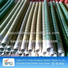 DN125 putzmeister 2 layers steel wire concrete pump ruber hose