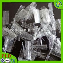 fiber road construction PP mesh fiber asphalt additive fiber PP split concrete fiber pp mesh fiber