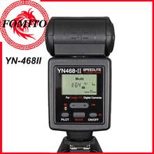 Camera flash gun Yongnuo Upgraded TTL Speedlite Automatic Type Hot Shoe Flash YN-468II YN468II for Canon with LCD Screen