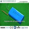cheap lipo batteries 833463 2050MAH 12v li-polymer battery pack
