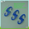 Wholesale plastic carabiner .plastic key chain snap hooks