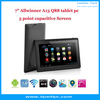 2014 cheapest allwinner a13 dual camera q88 tablet pc